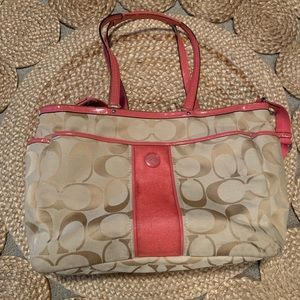 Coach Diaper/messenger bag